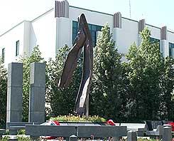 9/11 memorial in Beverly Hills