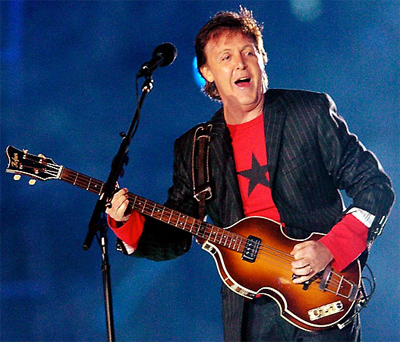 Michael Ovitz attends Paul McCartney's Apollo Benefit