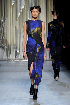 Michael Ovitz's daughter fashion designer Kimberly Ovitz presents at New York Fashion week