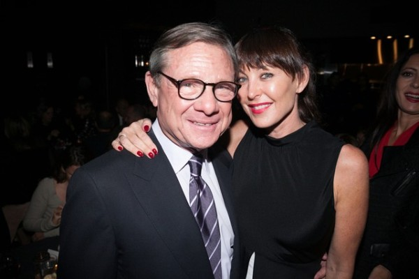 Michael Ovitz and Tamara Mellon at As If Fete