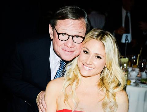 Michael Ovitz and daughter Kimberly at Humane Society Gala